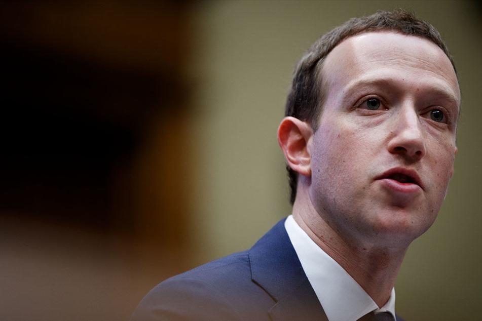 Gründer und Chef Mark Zuckerberg (34) bereitete Investoren auf gebremstes Wachstum in der Zukunft vor.