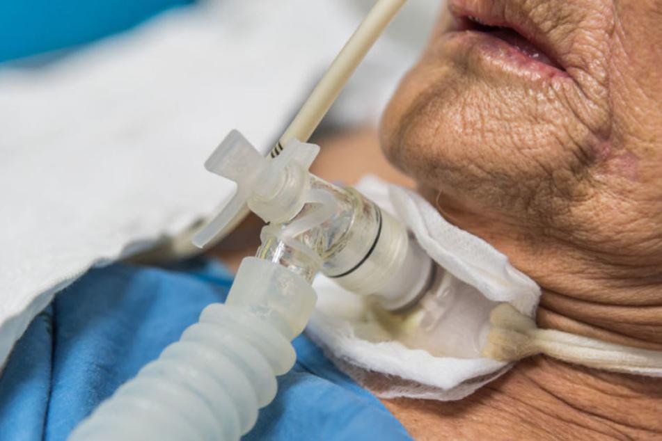 82-Jährige schläft seit 36 Jahren in Maschine, sonst stirbt sie