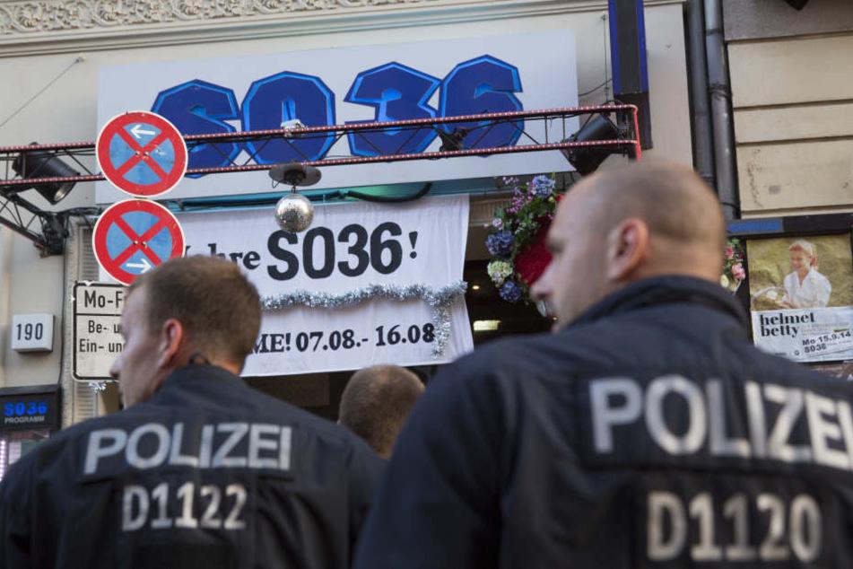 Im Berliner Club SO36 kam es am Mittwochabend zu mehreren Festnahmen. (Symbolbild)