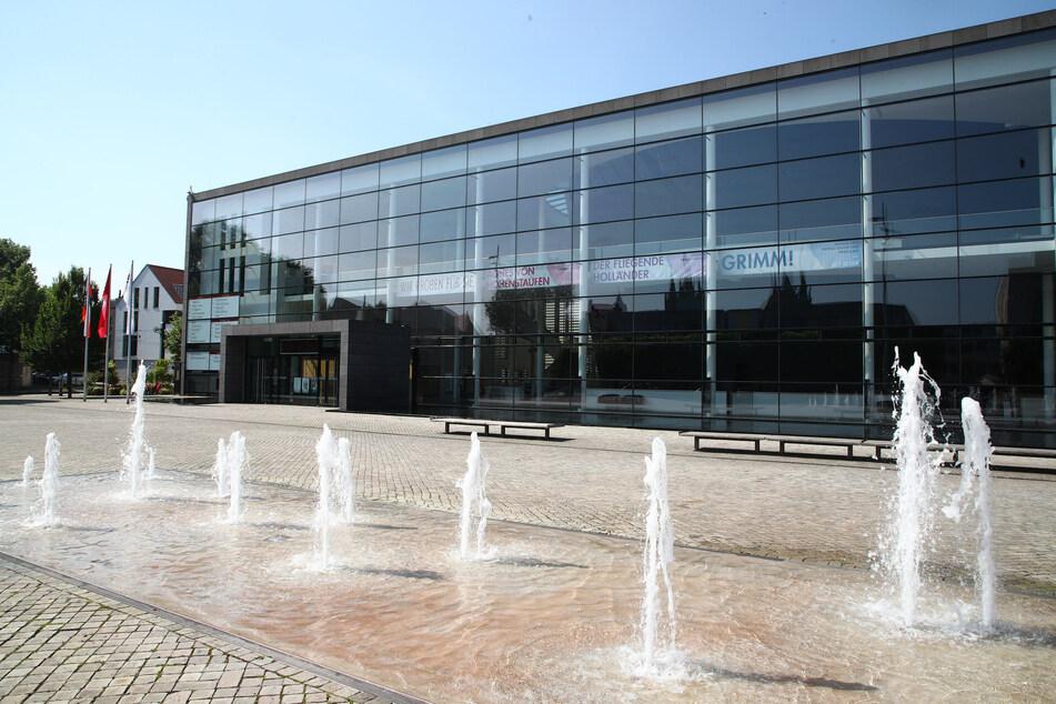 Das Theater in Erfurt.