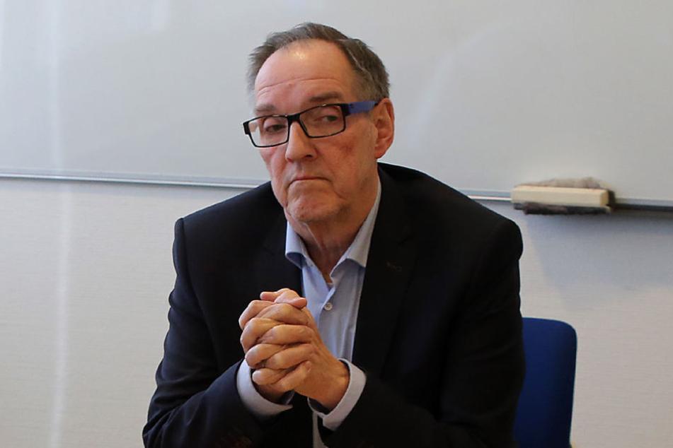 Hans-Jürgen Laufer (69) glaubt an die Stärken seines Trainers.