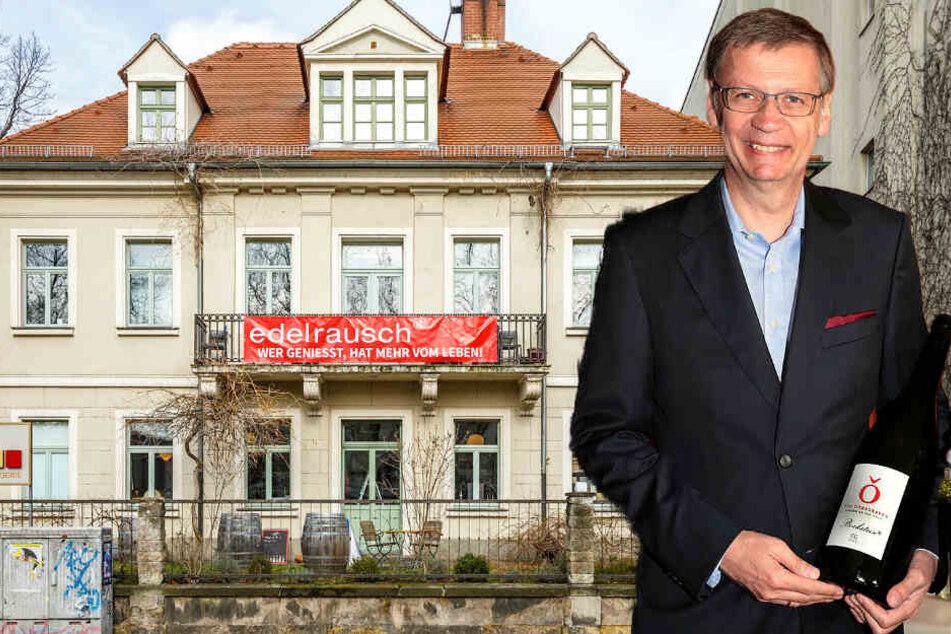 Günther Jauch schenkt in der Neustadt einen ein