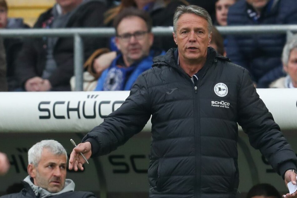 Gegen Holstein Kiel möchte DSC-Trainer Uwe Neuhaus einen Sieg einfahren.
