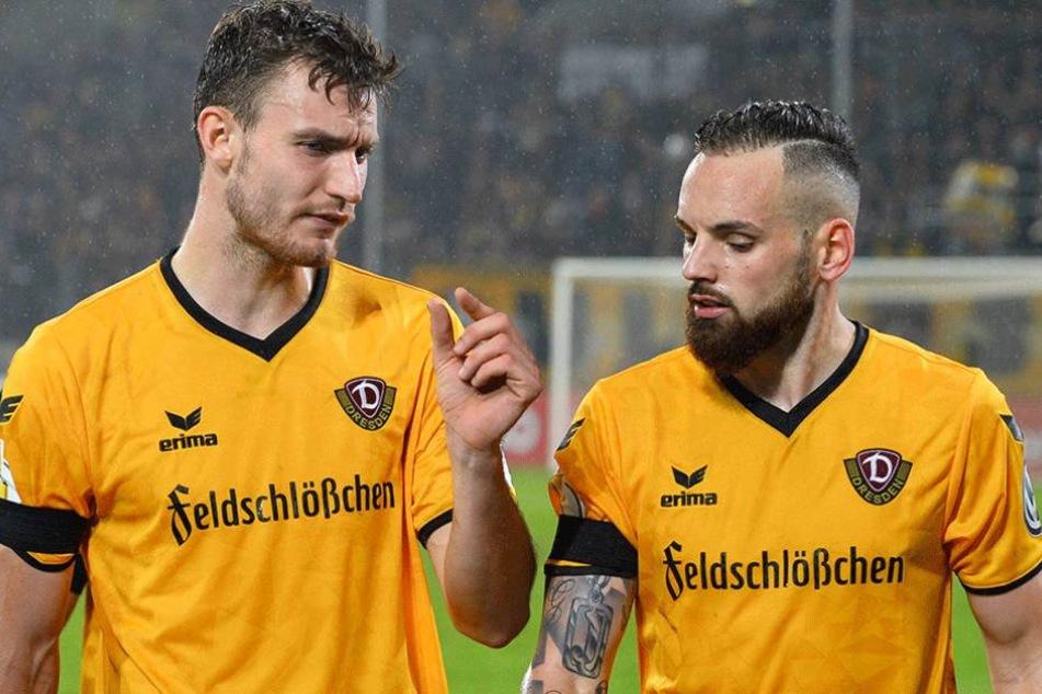 """""""So viel hat gefehlt"""", scheint Florian Ballas nach der Niederlage gegen BielefeldGiuliano Modica zu zeigen."""