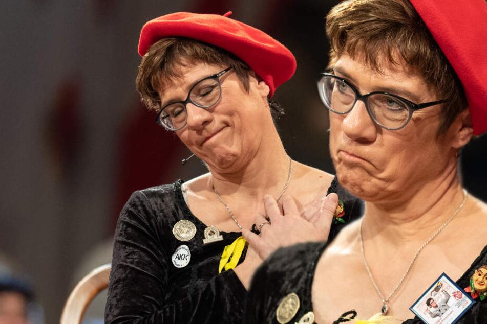 CDU-Chefin Kramp-Karrenbauer macht sich über Intersexuelle lustig