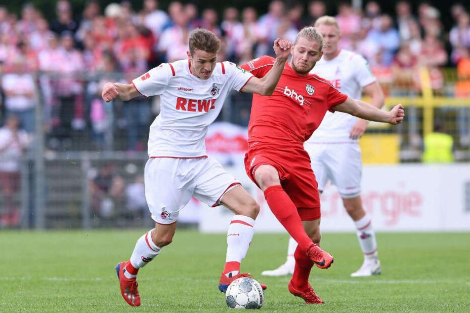 Das Testspiel zwischen dem 1. FC Köln und den SSV Reutlingen ging 5:1 aus.