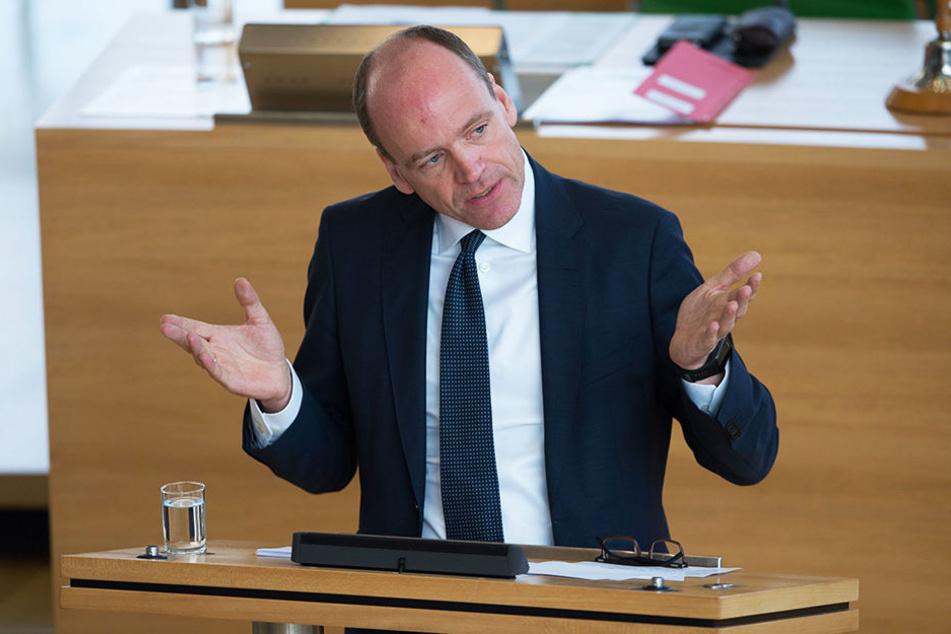 Sieht Sachsen benachteiligt: der sächsische Finanzminister Matthias Haß (CDU).