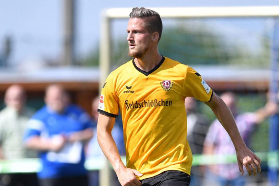 Hendrik Starostzik kam in der abgelaufenen Saison  lediglich auf vier Einsätze in der 2. Bundesliga.
