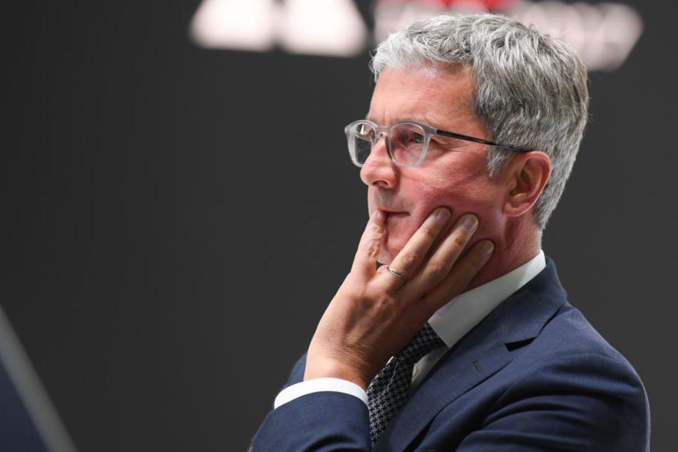 Ermittler nehmen Audi-Chef Stadler fest