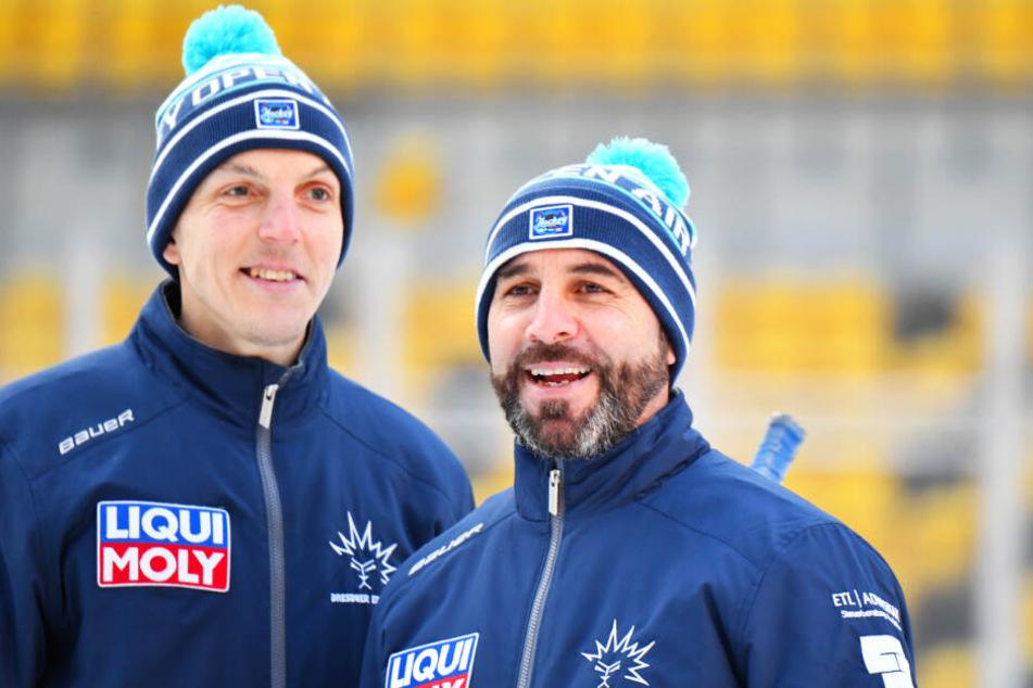 Co-Trainer Petteri Kilpivaara (l.) und Cheftrainer Rico Rossi sind bereits ein super eingespieltes Team.