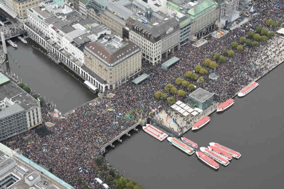 Innenstadt dicht: 30.000 Teilnehmer zu Klimademo erwartet