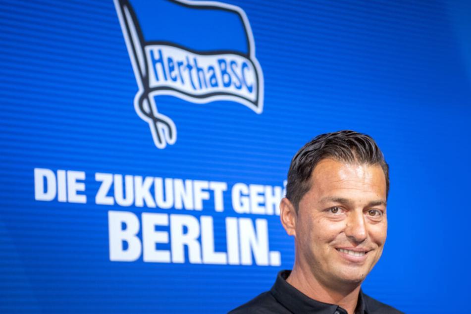 Freut sich auf die neue Saison: Hertha-Trainer Ante Covic.