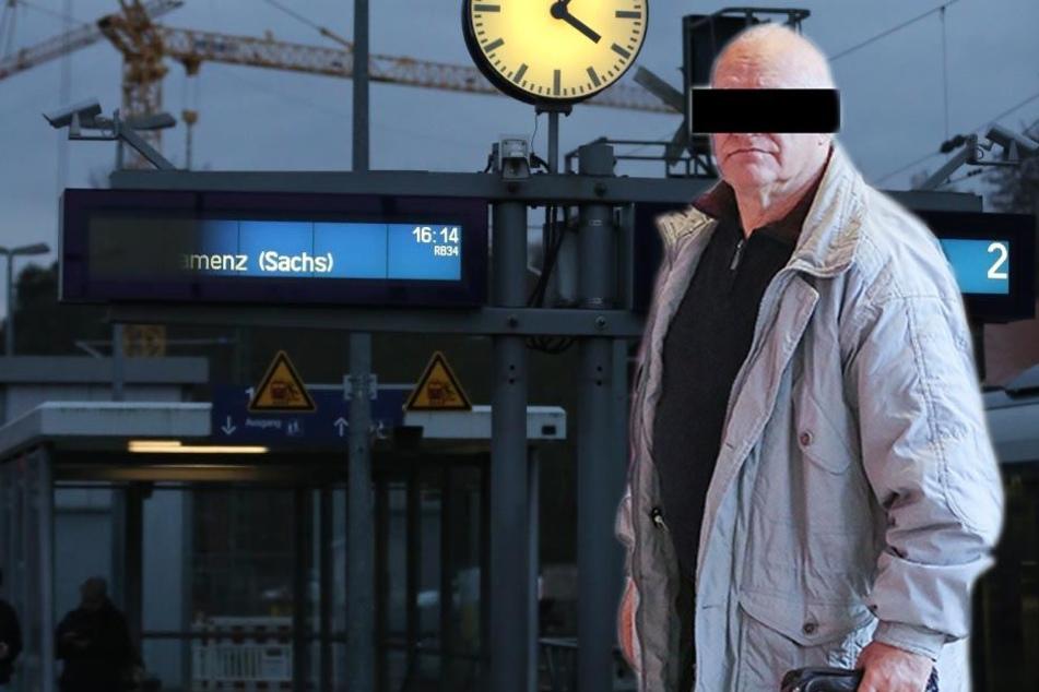 Nackig an Gleis 3! Dieser Rentner verlegte den FKK-Urlaub an den Bahnhof