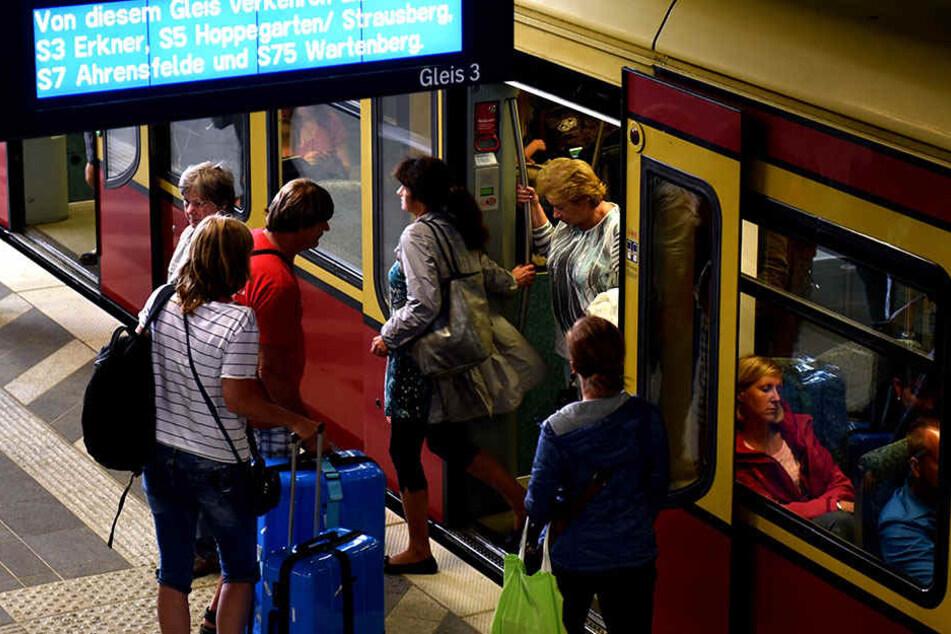 Ob sie dadurch pünktlicher wird? S-Bahn fährt ab sofort nur noch mit Ökostrom