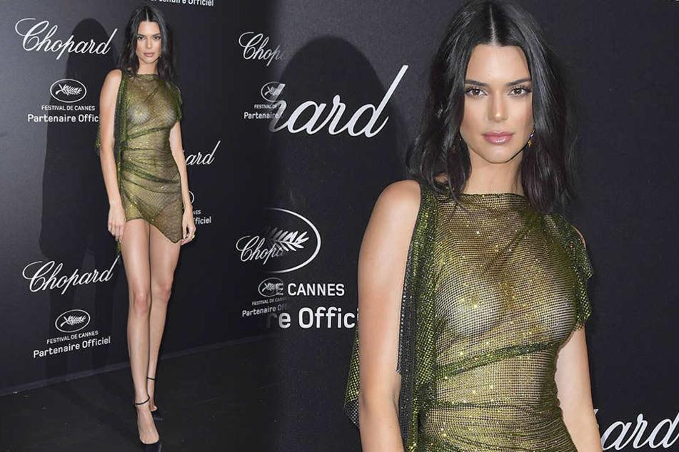 Kendall Jenner ließ die Hälfte ihrer Unterwäsche zu Hause.