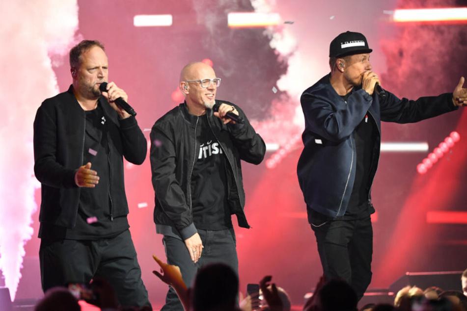 Die Fantastischen Vier wurden als Wegbereiter des Pop geehrt und traten ebenfalls bei dem Festival auf.