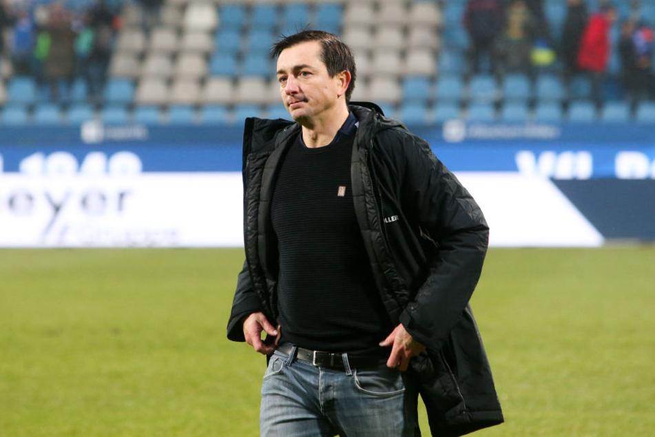 Sucht einen Backup für Philipp Riese: Aues Coach Daniel Meyer.