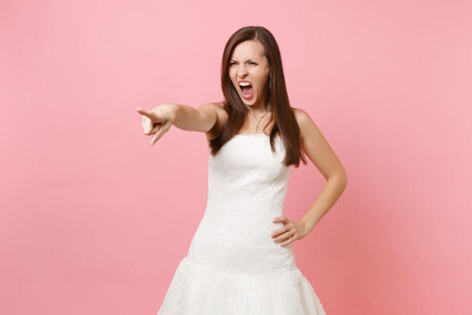 Die Braut wollte die Schönste sein. Ohne Rücksicht auf Verluste. (Symbolbild)