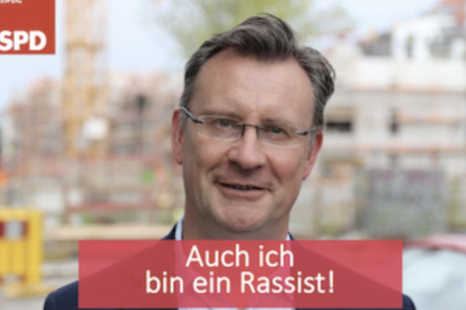"""Sächsischer SPD-Politiker: """"Auch ich bin ein Rassist!"""""""