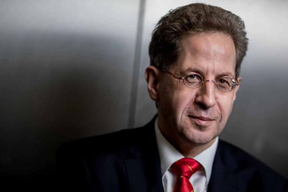 Hans-Georg Maaßen, Präsident des Bundesamtes für Verfassungsschutz. Das Bundesamt für Verfassungsschutz (BfV) hat chinesischen Geheimdiensten verstärkte Attacken auf deutsche und europäische Ziele vorgeworfen.
