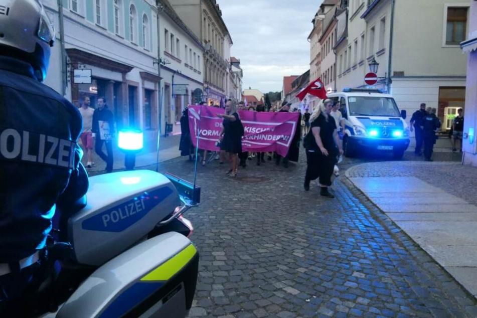 """Höcke-Besuch in Grimma beendet: Passant als """"Judenschwein"""" beschimpft"""