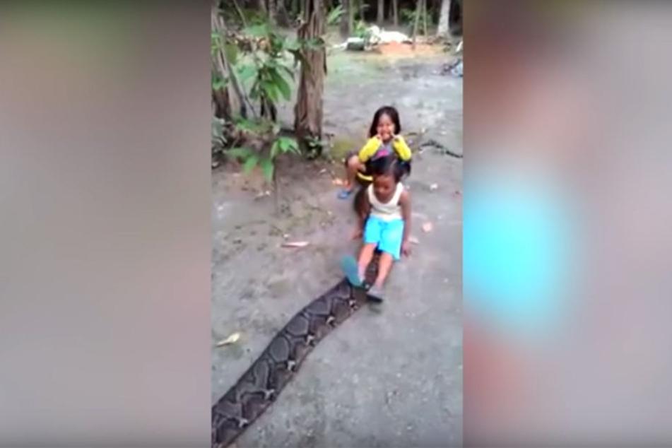 Den Kindern ist nicht bewusst, in welch gefährliche Situation sie sich begeben.