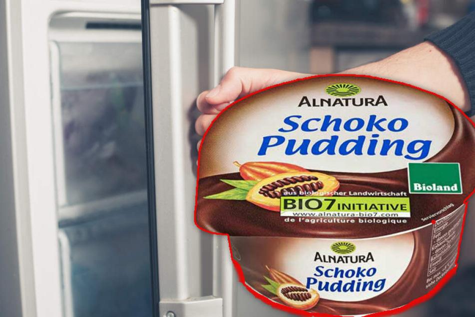 Wenn Ihr diesen Alnatura-Schokopudding im Kühlschrank habt, gebt ihn sofort zurück!