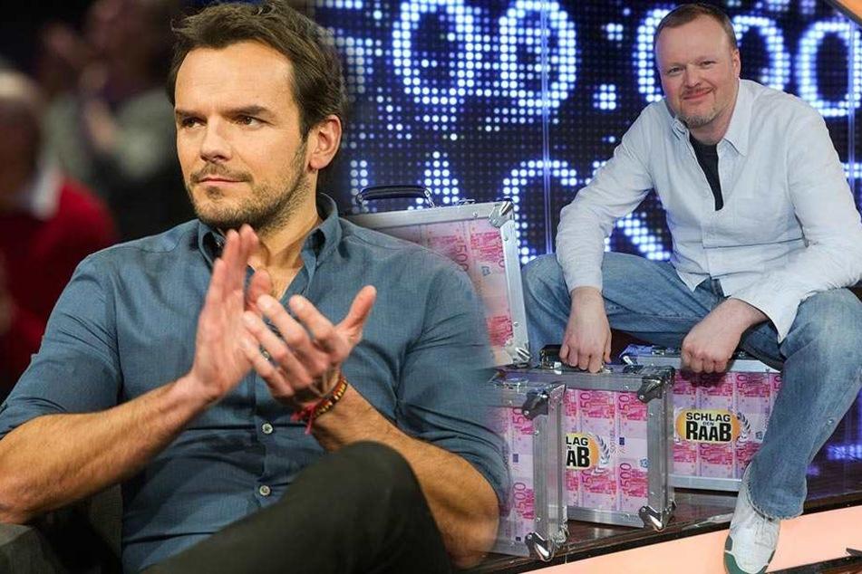 """Er tritt ein großes Erbe an: Steffen Henssler wird neuer Stefan Raab in """"Schlag den Raab""""."""