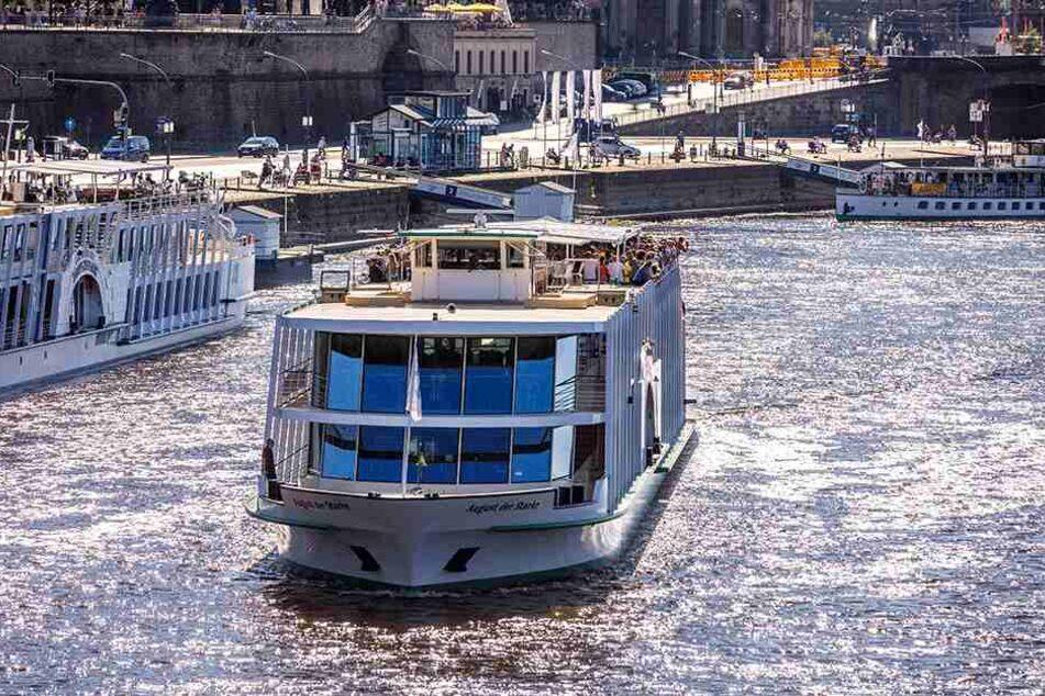 """Die """"MS August der Starke"""" wird zum Stadtfest drei Tage lang ein Partyschiff!"""