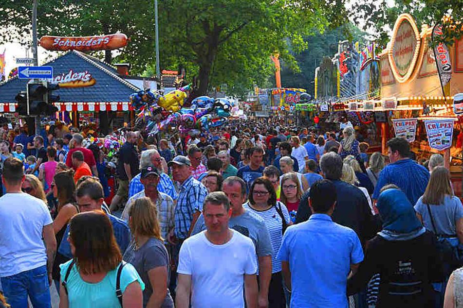 Das Libori-Fest lockte viele Besucher am Wochenende nach Paderborn.