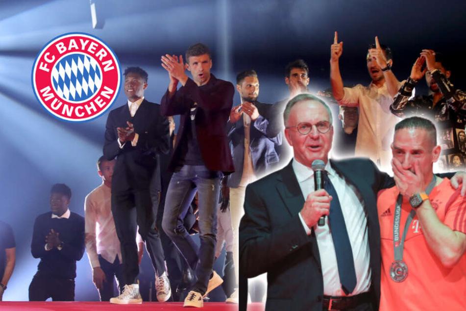 Große Emotionen, Tränen fließen: So feiern die Bayern ihren Meister-Titel