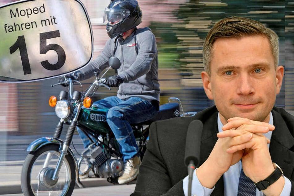 Wie einst zu DDR-Zeiten: Moped-Führerschein mit fünfzehn!