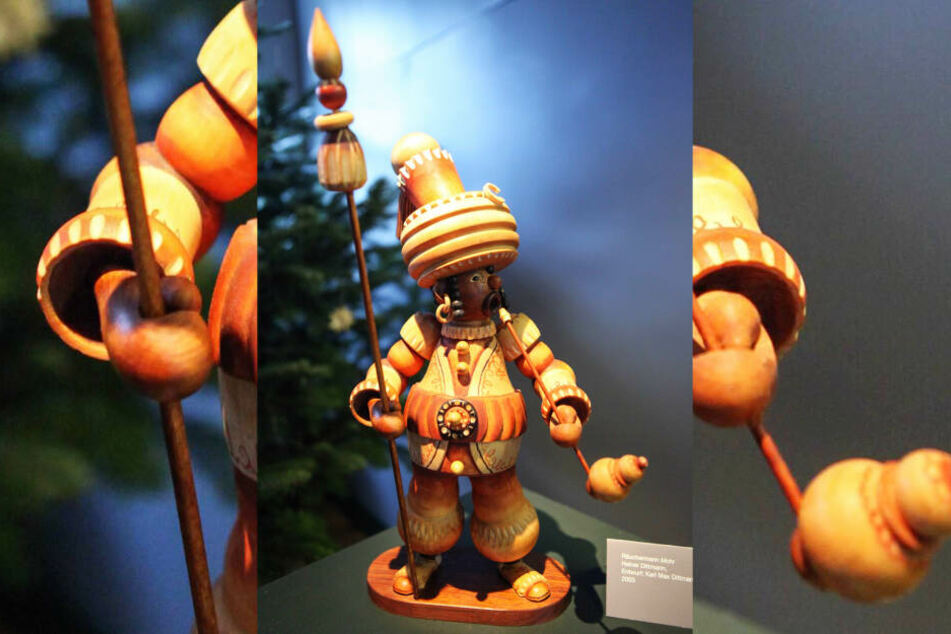 Die Türken-Figuren sollen von den verkleideten Soldaten inspiriert sein.