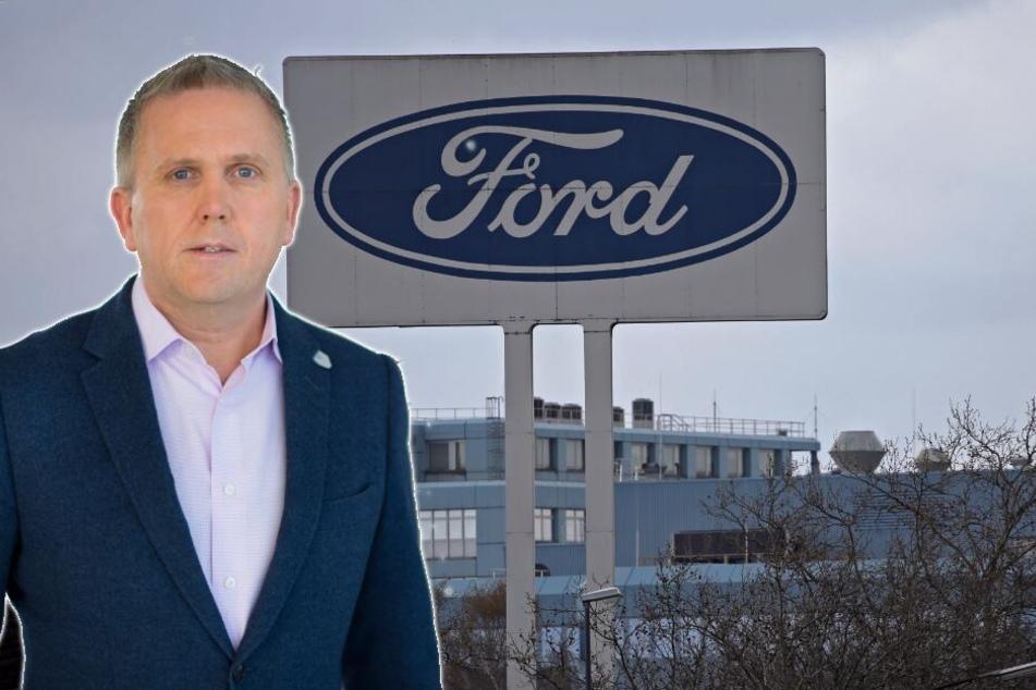 Stuart Rowley ist seit dem 1. April 2019 Europa-Chef von Ford (Bild-Montage).