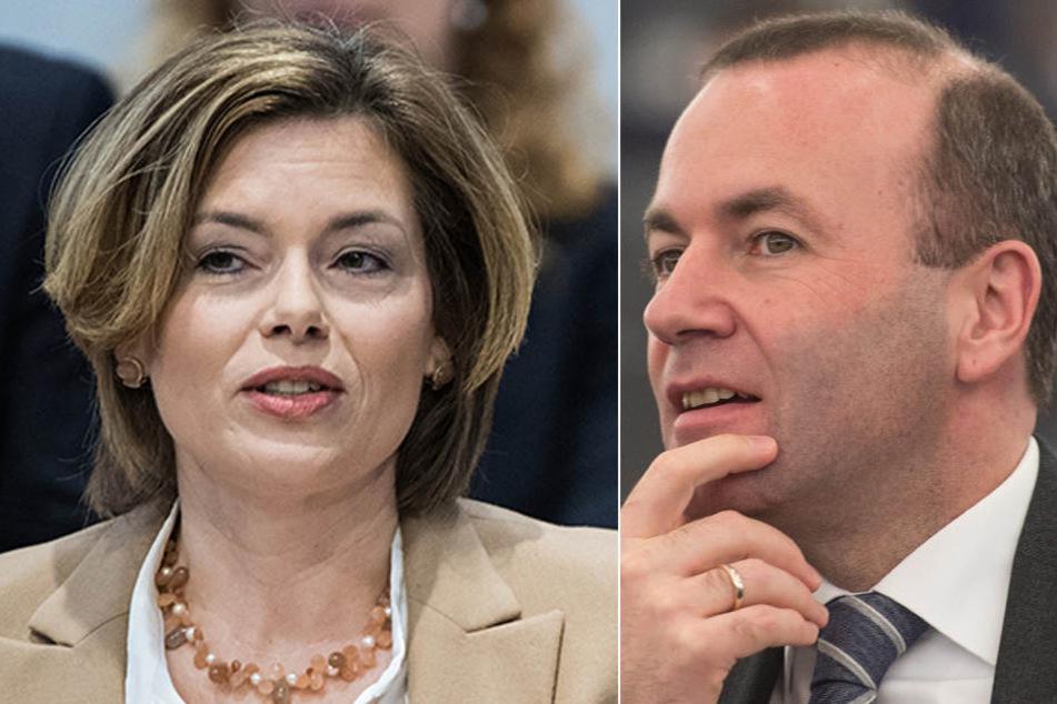Julia Klöckner (CDU) und Manfred Weber (CSU) sehen es ähnlich: Die Vollmitgliedschaft kann kein Ziel mehr sein.