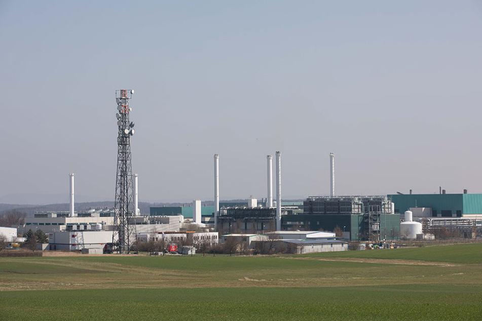 Das Dresdner Globalfoundries-Werk nahe des Flughafens mit 50.000 Quadratmetern an Reinräumen.