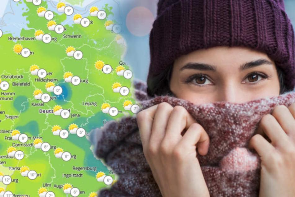 Nach goldenem Oktober-Wetter: Spürbar kühler, Rekordkälte erwartet