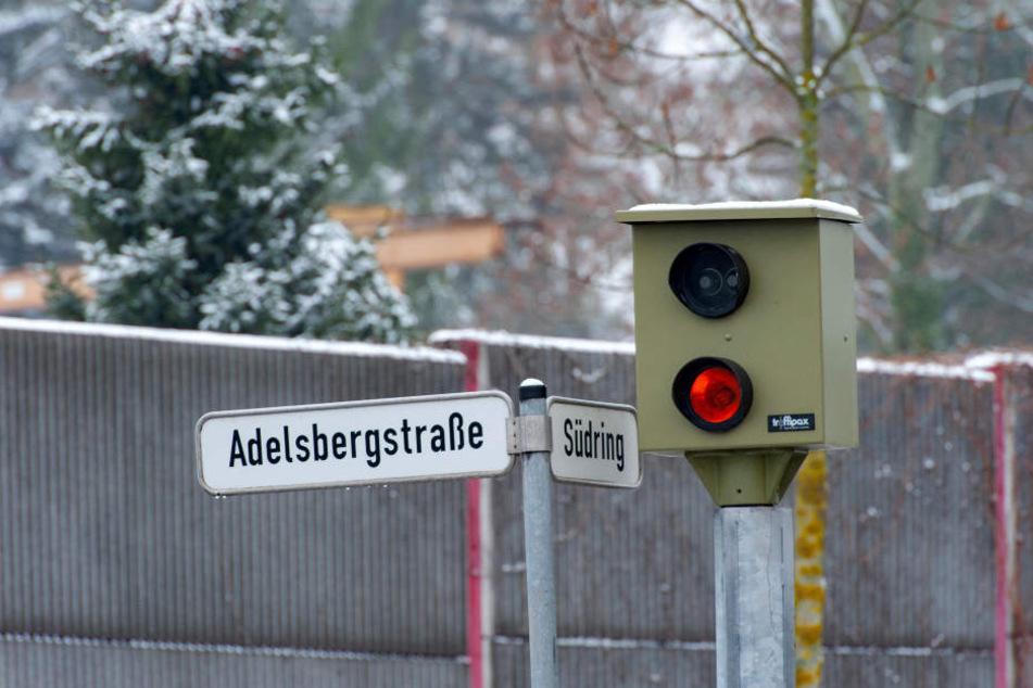 Der Verlierer unter den Blitzern: Südring/Adelsbergstraße.