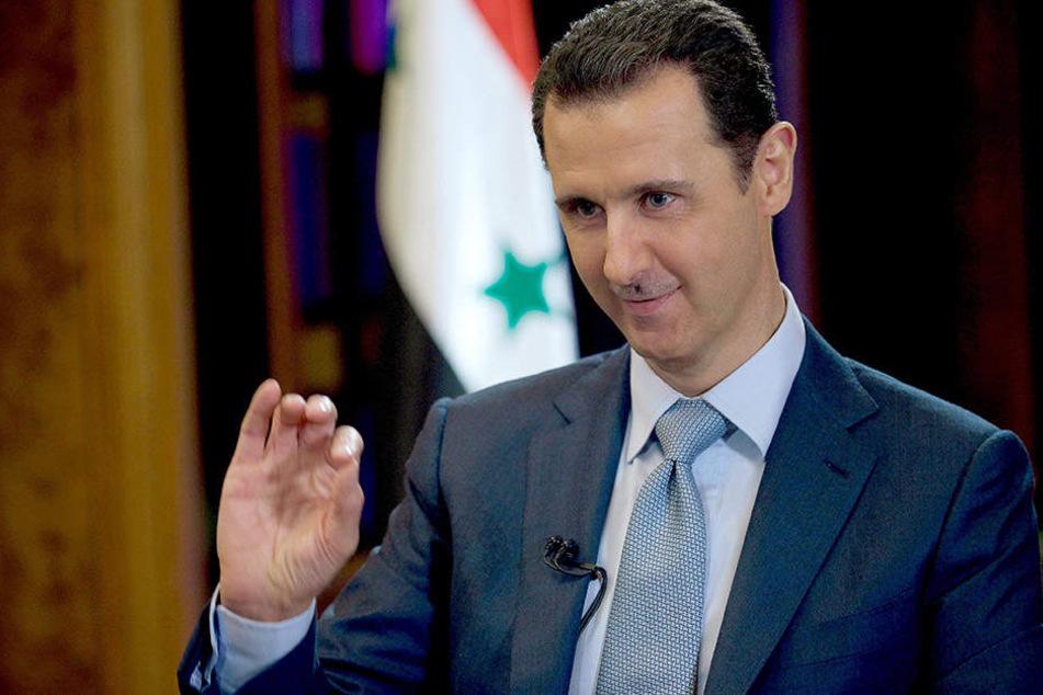 Baschar al-Assad ist seit dem Jahr 2000 Staatspräsident Syriens.