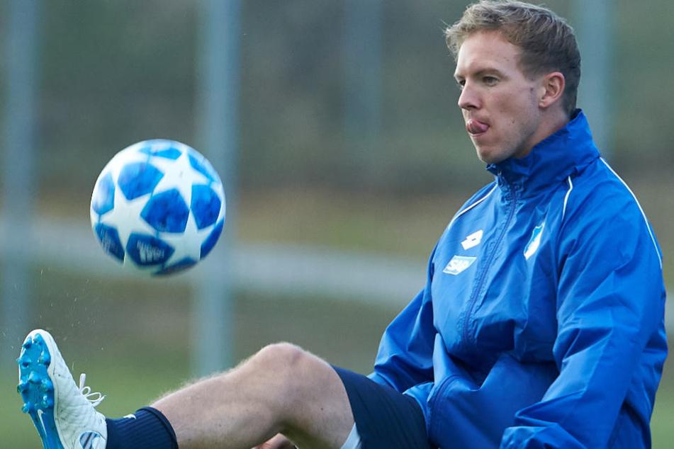 TSG-Coach Julian Nagelsmann will den Europa-Hattrick. (Symbolbild)