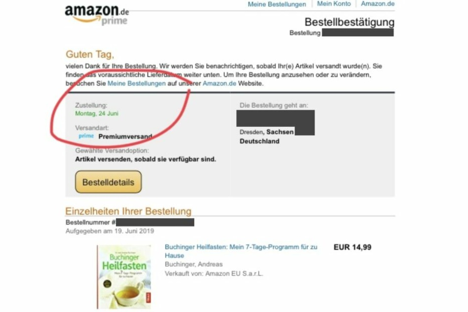 Normalerweise schnell geliefert. Ein Buch. Dieses wurde am 19.6. bestellt. Angekündigte Lieferung fünf Tage später: am 24. Juni.