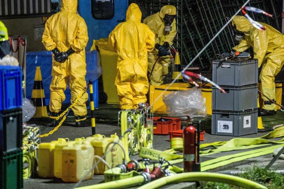 Salzsäure-Unfall in Frankfurt: Was war die Ursache?