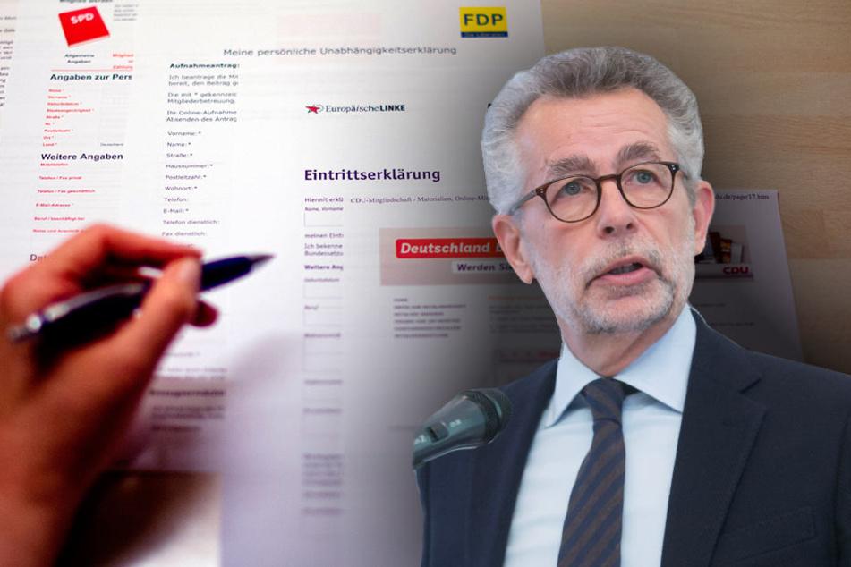 Trotz Mitgliederschwund: Ohne Parteien geht es in Deutschland nicht, glaubt Politikwissenschaftler Prof. Hans Vorländer (62).