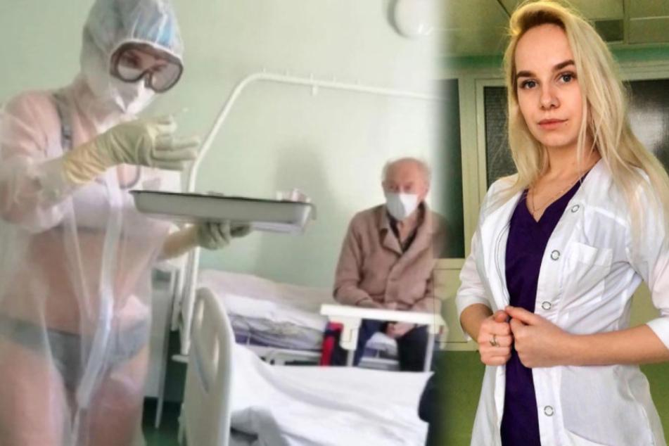 Halbnackte Krankenschwester sorgte für Mega-Wirbel: Jetzt hat sie diesen neuen Job!