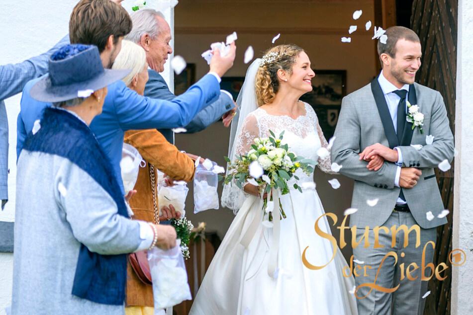 Sturm der Liebe: erste Hochzeitsbilder verraten mehr