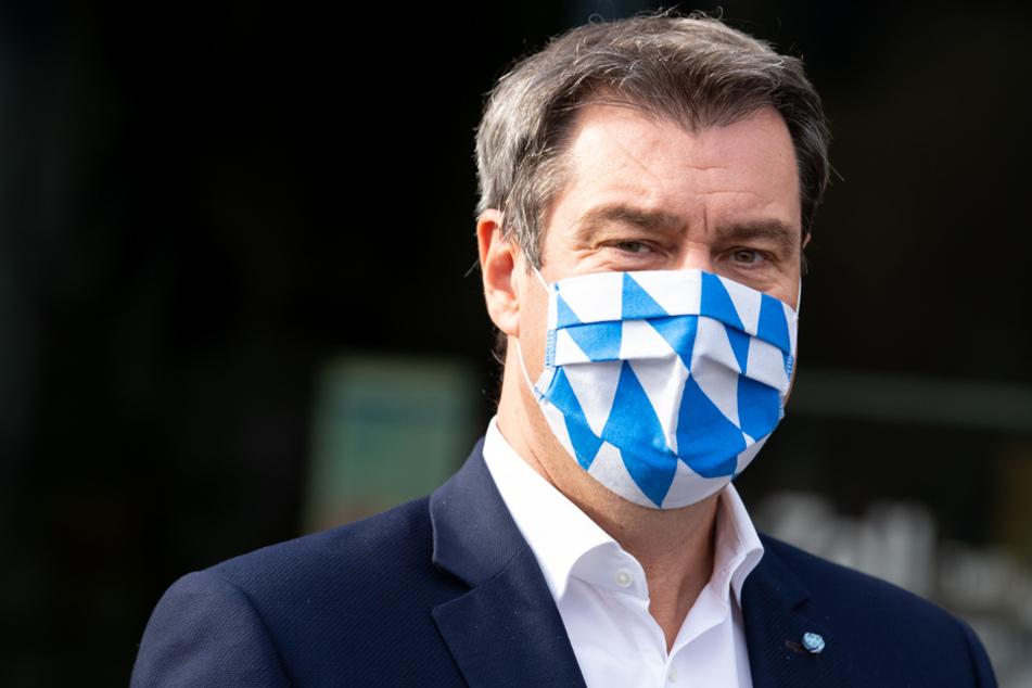 Söder knallhart: 250 Euro Strafe bundesweit für Maskenverweigerer