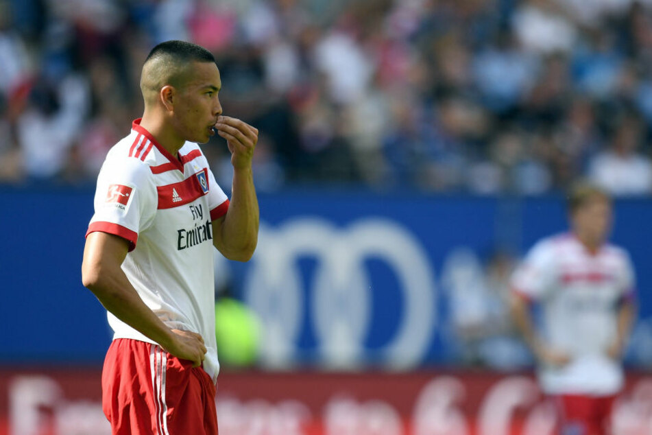 Wurde beim HSV nicht wirklich glücklich: US-Stürmer Bobby Wood.