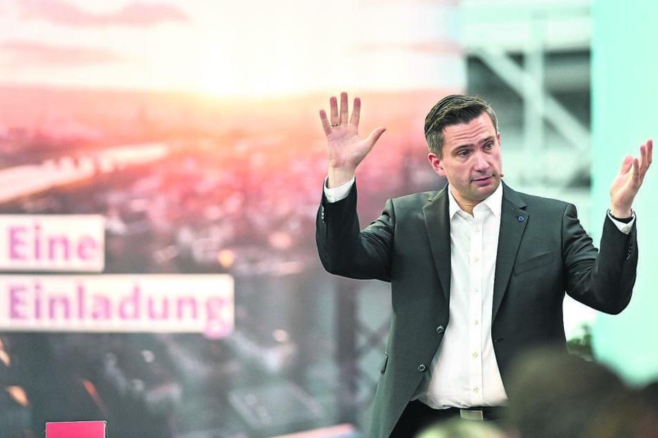"""Vize-Ministerpräsident Martin Dulig (44, SPD) wehrt sich gegen die """"Angstmacherei"""" der AfD."""