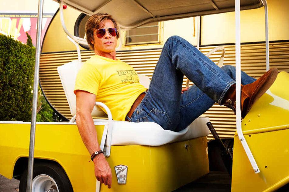 Brad Pitt liefert als Cliff Booth eine starke Leistung ab.