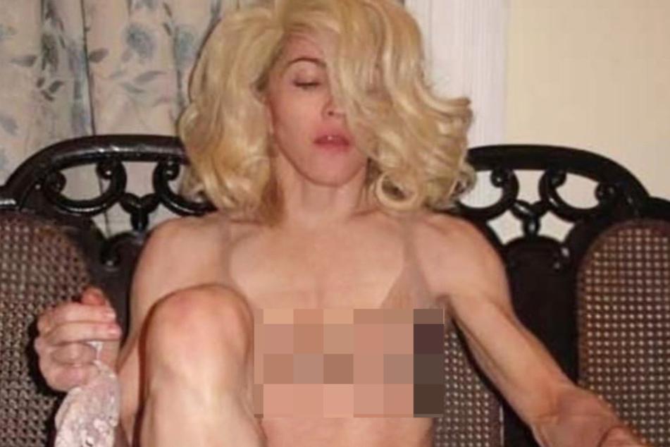 """Madonna zeigt sich in durchsichtigem BH und gibt """"Null F**ks drauf"""""""